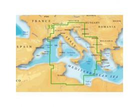 Cartografía MSD Platinum+ XL3 - 33P - Mediterráneo Central