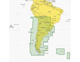 5XG - MSD - Navionics+ XL9 - Chile, Argentina e Isla de Pascua