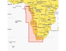 6G036S2 - MSD - Navionics+ Small - Suroeste de África