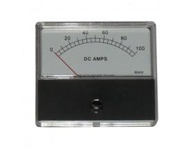 Amperímetro analógico 0-100A VCC
