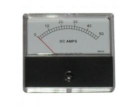 Amperímetro analógico 0-50A VCC