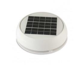 """Ventilador solar 3"""", blanco"""