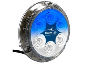 P12-SM-SB158 Luz Piranha P12 SM, 5500 lumens, 12/24V, azul zafiro