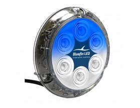 Luz Piranha P12 SM, 5500 lumens, 12/24V, dual azul/blanco