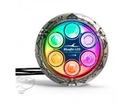 P6-SM-CC106 Luz Piranha P6 Nitro SM, 3150 lumens, 12/24V, color cambiante