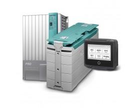PACK_MLI_ADVANCED Solución avanzada de Litio. Sistema de alimentación basado en batería de litio integrable en cualquier sistema con altas exigencias energéticas. Versión avanzada, con batería de litio de 5000W y cargador/inversor Mass Combi Pro 12/3000-1