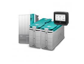 PACK_MLI_PRO Solución profesional de Litio. Sistema de alimentación basado en batería de litio integrable en cualquier sistema con altas exigencias energéticas. Versión profesional, con 2 baterías de litio de 5000W y cargador/inversor Mass Combi Pro 12/30