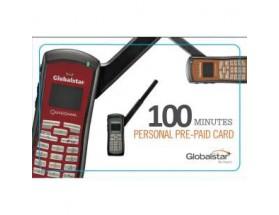 PERSONAL_100_V Bono electrónico pre-pago personal de Globalstar, 100 mins
