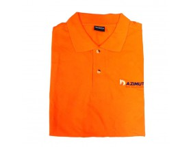 Polo MC naranja, talla L