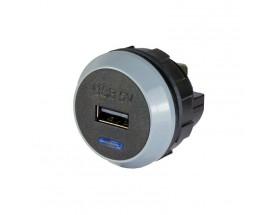 Cargador USB PowerVerter Pro-S, una salida, 12/24V, 2.1A