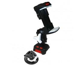 ROKK Mini - Kit de montaje para teléfono móvil con base de ventosa