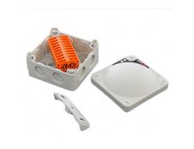 Caja de conexiones con 10 terminales fast-fit, versión Deluxe