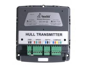 T121 Tacktick T121 - Transmisor multicasco. Permite que los displays utilicen la dirección del viento para determinar automáticamente qué transductor de casco suministrará la información necesaria