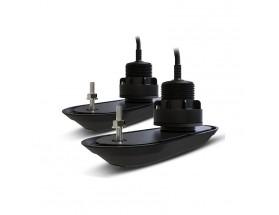 Pack transductores pasacascos RV-320 RealVision 3D plástico, babor/estribor