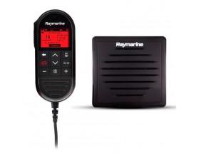 T70432 Kit de segunda estación cableada para radioteléfono VHF Ray90 de Raymarine que incluye altavoz pasivo, cable en 'Y', y extensión de cable RayMic de 10 metros