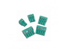Juego de conectores verdes para transmisor de casco/NMEA