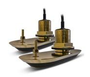 Pack de 2 transductores RV-212 bronce pasacascos. 12º Babor y Estribor