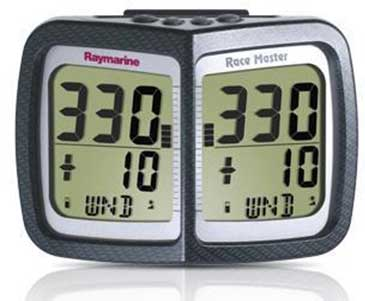 Display táctico Race Master de Raymarine